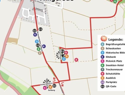 Neuer Streuobstwanderweg zwischen Mingerode und Duderstadt eröffnet!